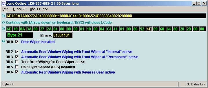 VWVortex com - VCDS MKVI / MK6 Platform, Handy Coding tweaks